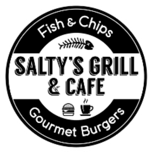 Salty's Grill & Cafe Logo